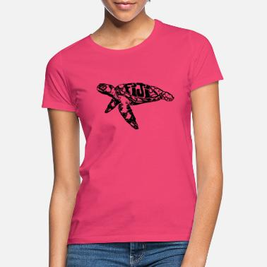 Pacific turtle, turtle - Women's T-Shirt