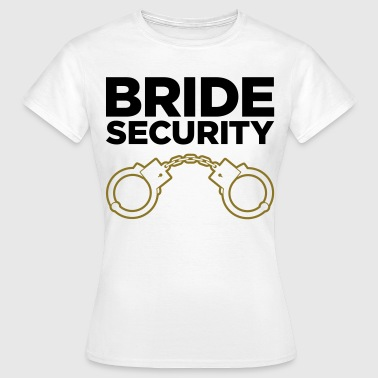 Security Team of the Bride - Women's T-Shirt