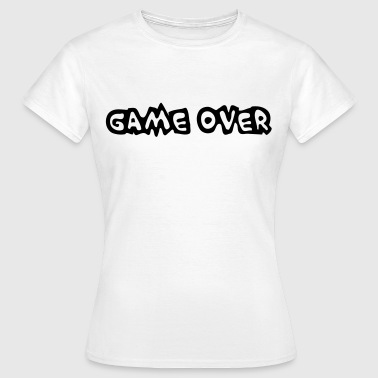 Game Over - T-shirt Femme