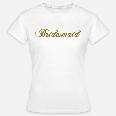 Brudtärna bridesmaid 2010 - T-shirt dam