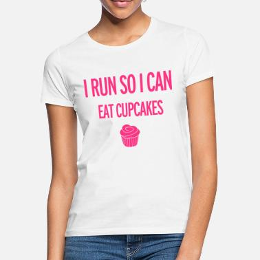 62691dc7cad Funny Running Cupcakes - Women  39 s ...