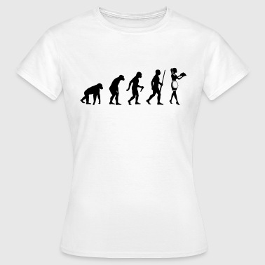 Waitress Evolution - Frauen T-Shirt