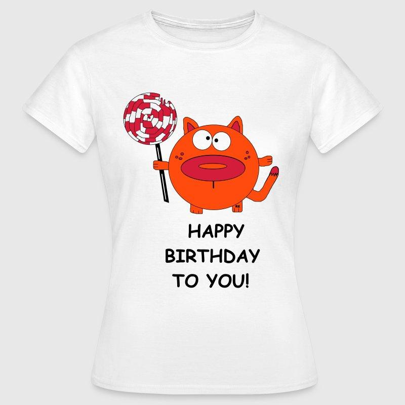 Happy Birthday Geburtstag Party Fun Kater Katze by monsterwonster ...