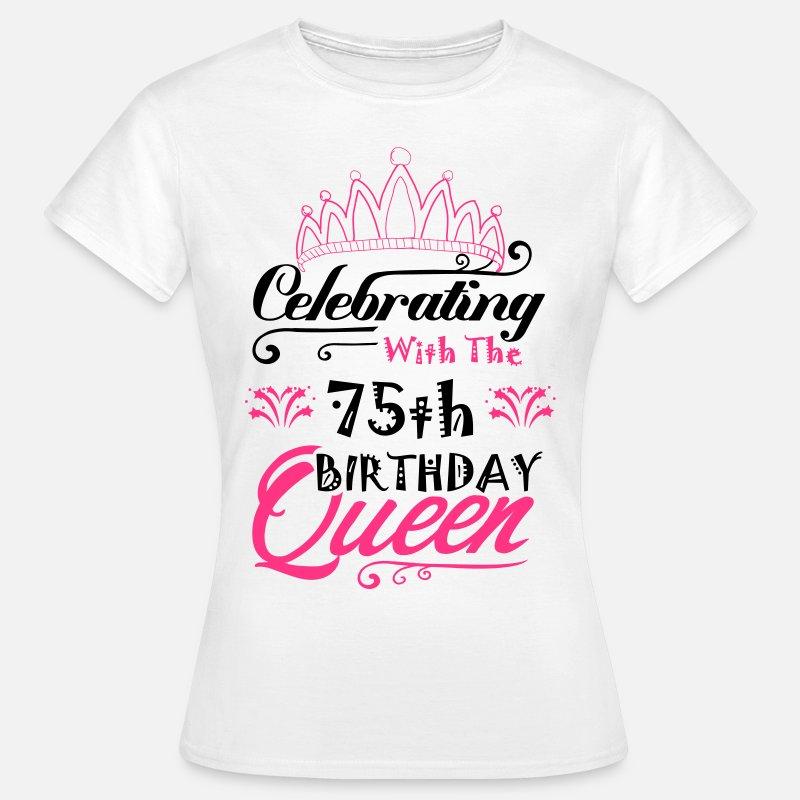 75th Birthday T Shirts