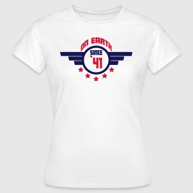 41_on_earth - Camiseta mujer