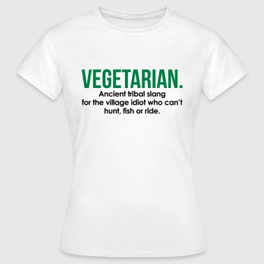 Vegetarian Tribal Slang - T-shirt dam