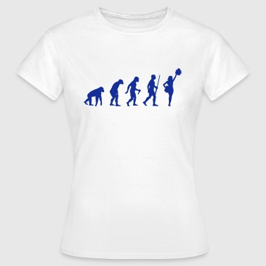 Cheerleader Evolution - Frauen T-Shirt