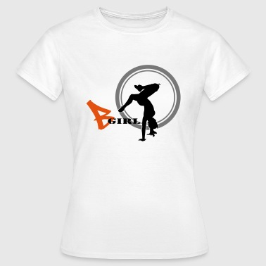 bgirl freeze - Frauen T-Shirt