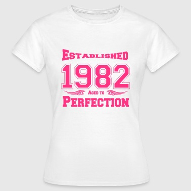 1982 Established - Frauen T-Shirt