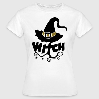 Combi Tee, Best Witch, Witchcraft, Halloween, girl - Camiseta mujer