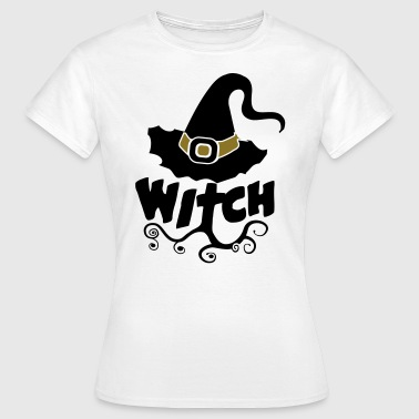 Combi Tee, Best Witch, Witchcraft, Halloween, girl - T-shirt Femme
