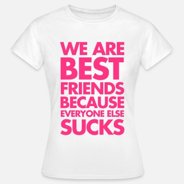 Bästa Vänner Best Friends - T-shirt dam