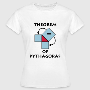 theorem_of_pythagoras_p1 - Camiseta mujer