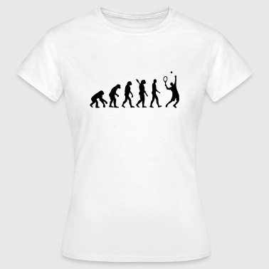 Evolution Tennis - Frauen T-Shirt