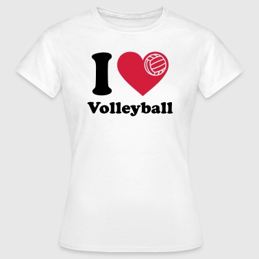 Volleyball  Volley-ball Volley  - T-shirt Femme