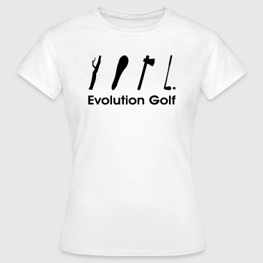 Evolution Golf - Frauen T-Shirt