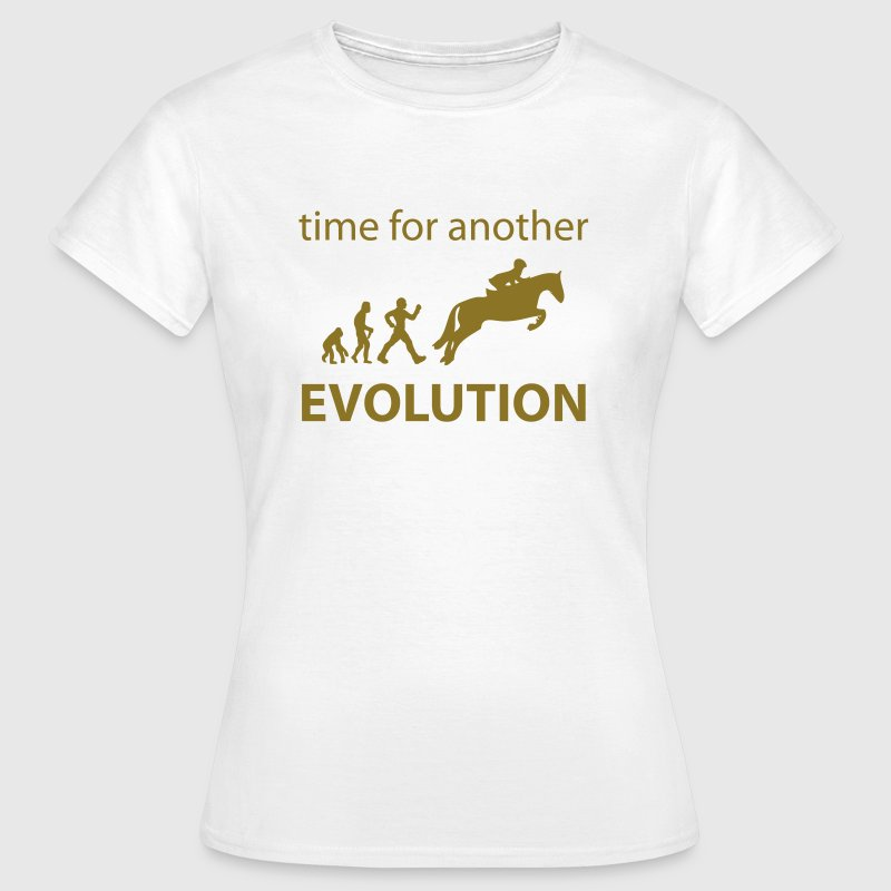 Evolution spring - Frauen T-Shirt