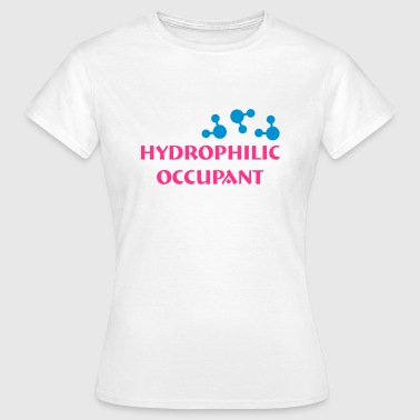 Underwater Hockey Hydrophilic Occupant (2 colour vector graphic) - Women's T-Shirt