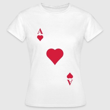 Ace of hearts - Women's T-Shirt