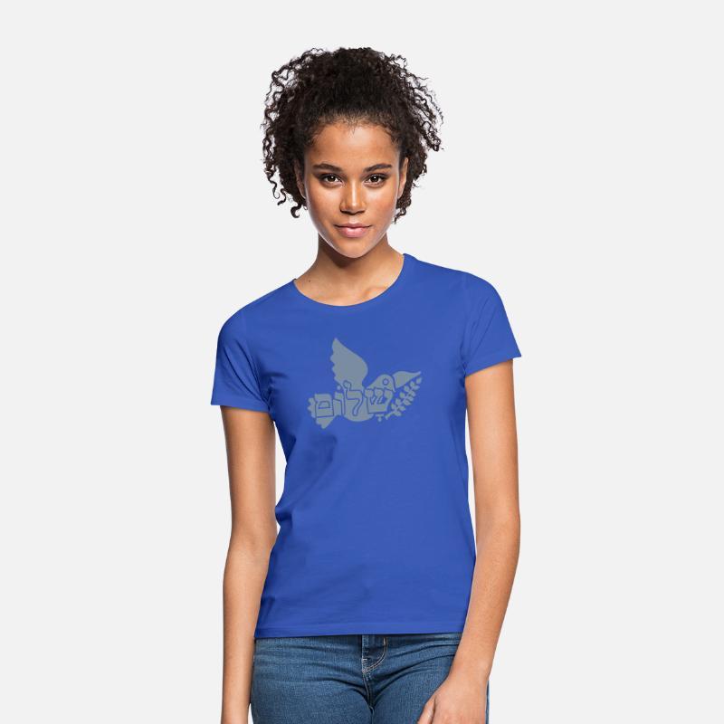 87ea2f8e0aa Shalom 'n Taube / shalom 'n dove (1c) Women's T-Shirt | Spreadshirt