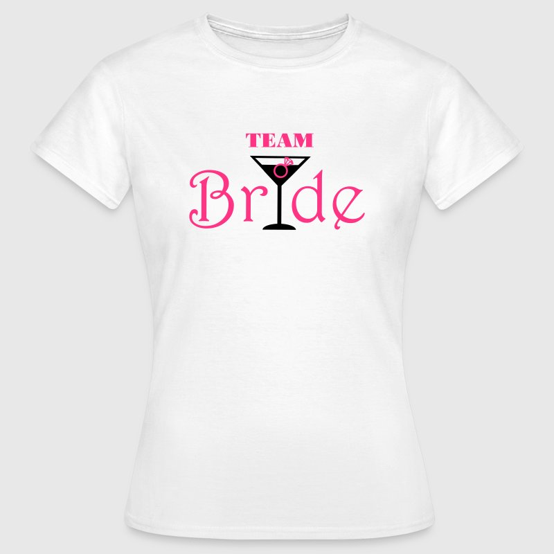 Team Bride Cocktail - Camiseta mujer
