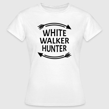 White walker hunter - Camiseta mujer