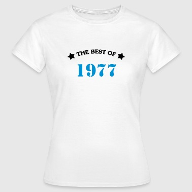 The best of 1977 - Vrouwen T-shirt