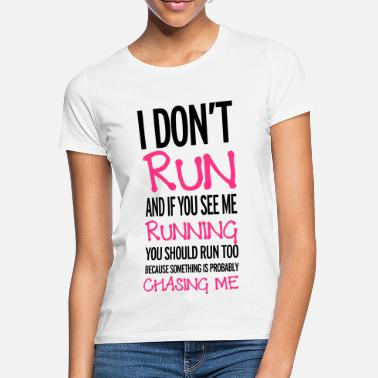 Running Run - Women's T-Shirt