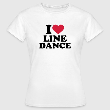 Line dance - Frauen T-Shirt