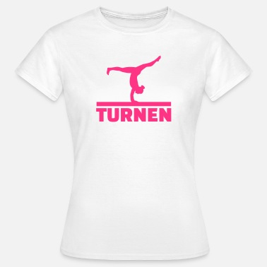 Bodenturnen Turnen - Frauen T-Shirt