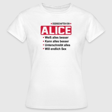alice - Frauen T-Shirt