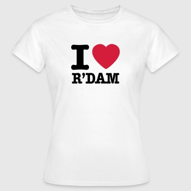 i love rotterdam - Women's T-Shirt