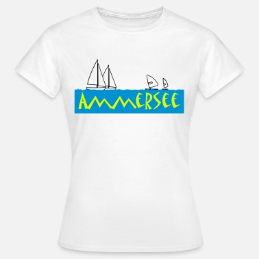 Ammersee ammersee - Frauen T-Shirt