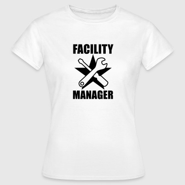Facility Manager | Hausmeister | Star | Stern - Women's T-Shirt