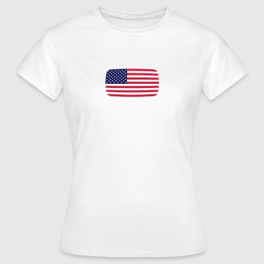 USA USA USA flagga USA flagga USA American - T-shirt dam