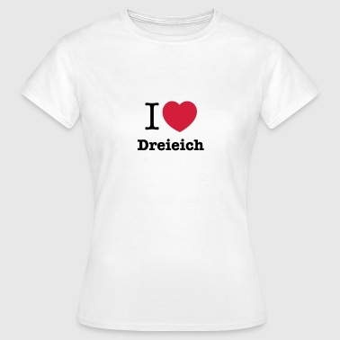 i love dreieich (mk) - Frauen T-Shirt