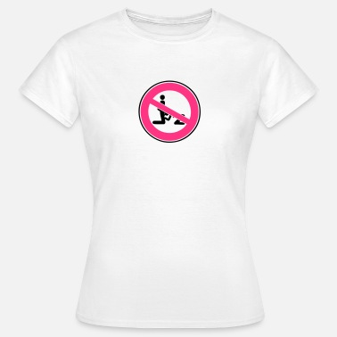 Fellation Pipe panneau interdit pipe fellation blowjob1 - T-shirt Femme