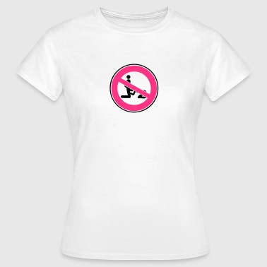 panneau interdit pipe fellation blowjob1 - T-shirt Femme