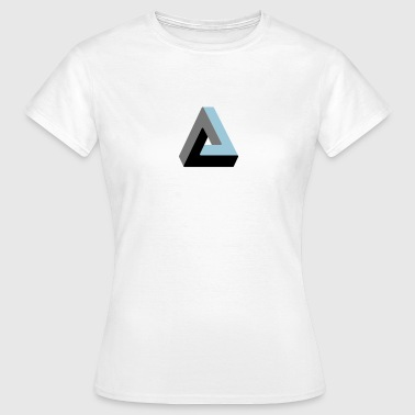 Triangle impossible illusion optique - T-shirt Femme