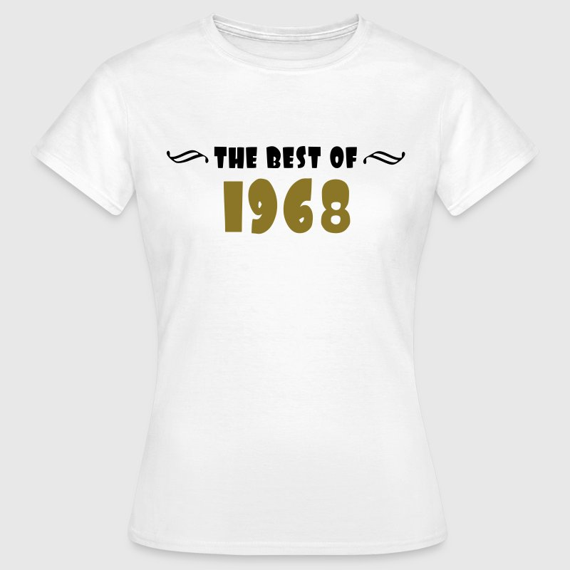 the best of - 1968 - Frauen T-Shirt