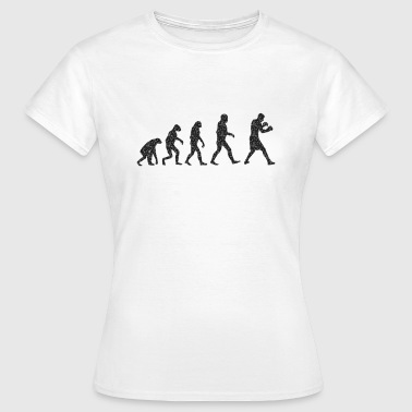 Boxing Logo Boxing Evolution logo - Women's T-Shirt