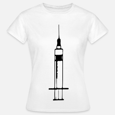 Injection Aiguille de seringue d'injection 1c - T-shirt Femme