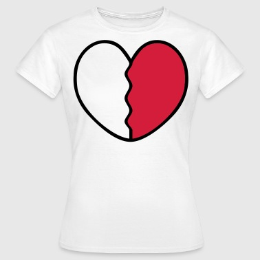 Heart Broken - Women's T-Shirt