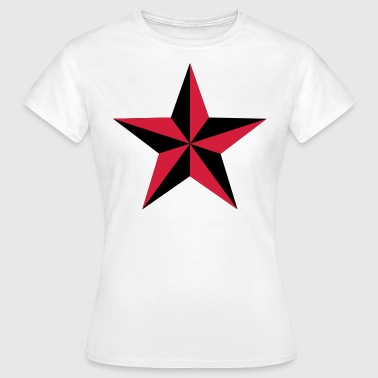 nautical star 2 color - Women's T-Shirt