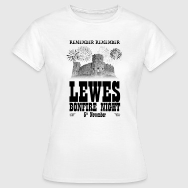 Lewes Bonfire Night - Women's T-Shirt