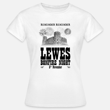 East Sussex Lewes Bonfire Night - Women's T-Shirt