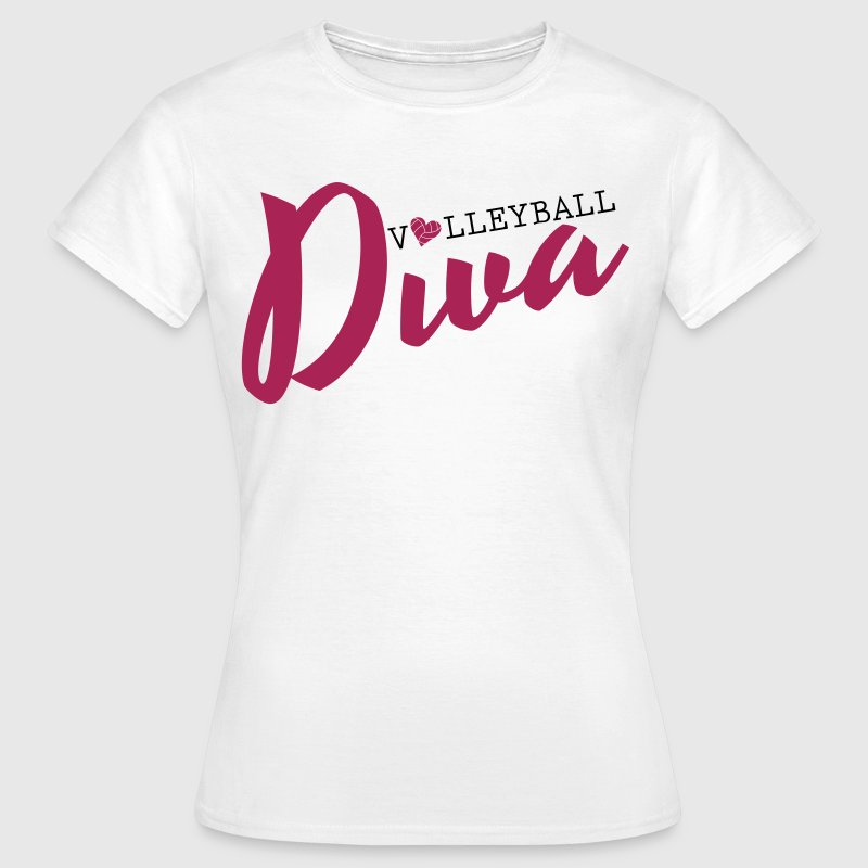 Volleyball Diva - Frauen T-Shirt