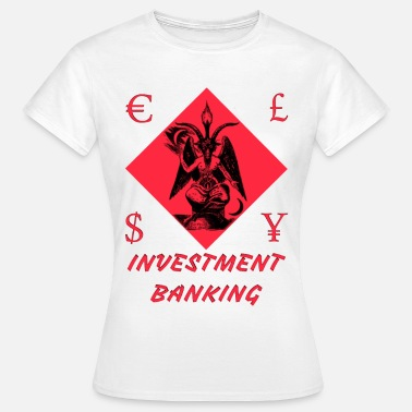 Banking Chemise d'INESTMENT BANKING Bitcoin Stock Market - T-shirt Femme