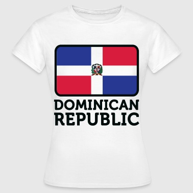 Drapeau national de la République dominicaine - T-shirt Femme