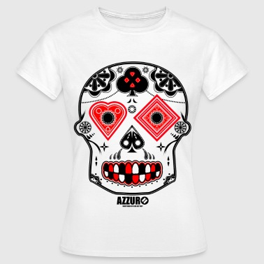 Candy Skull - Women's T-Shirt